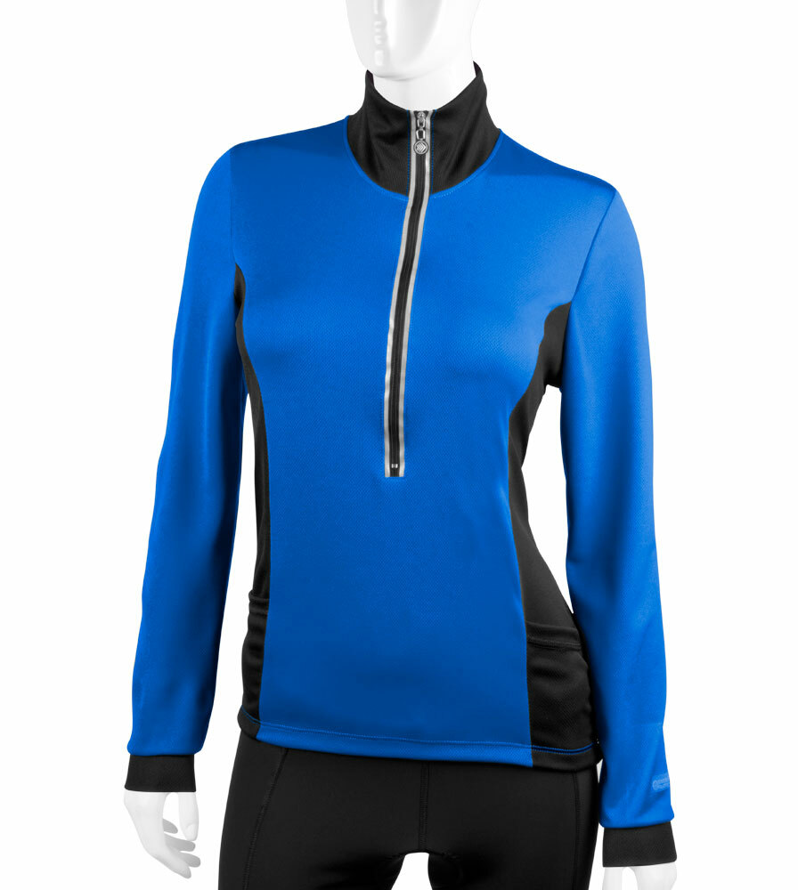 Aero Tech Women's Chilly Girl Cycling Jersey - Long Sleeve