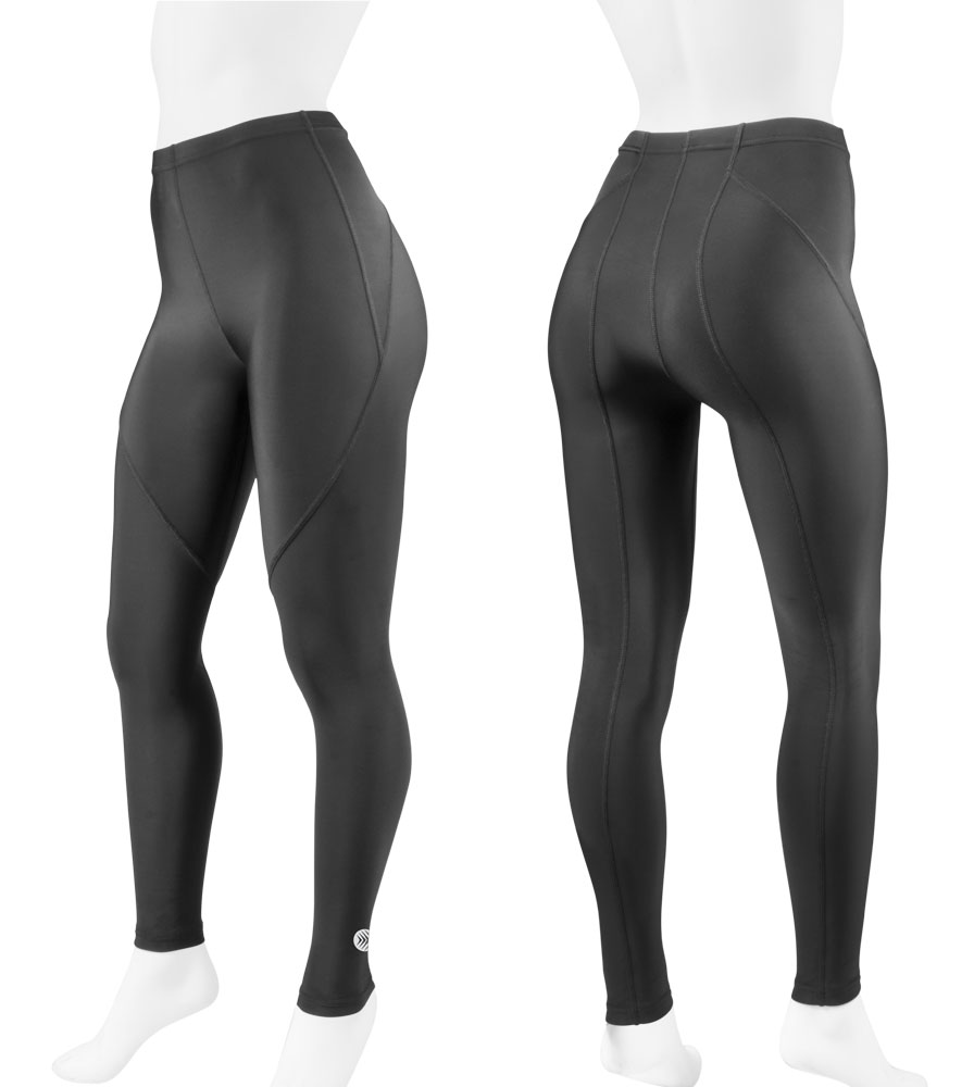 Aero Tech Women's Triumph UNPADDED Compression Fitness Tights