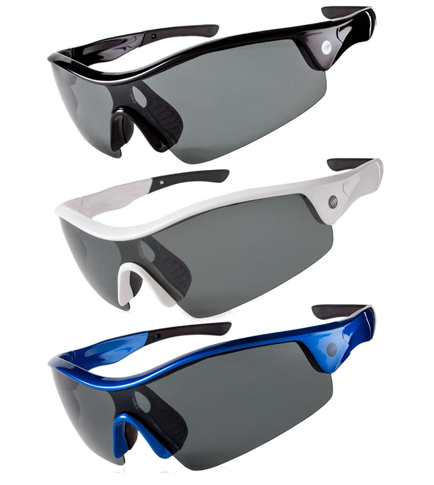 Aero Tech Epic Wrap Cycling Sun Glasses Polarized w UV  Protection