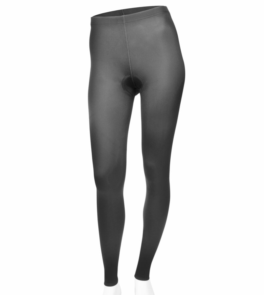 Aero Tech Women's USA Classic Black Spandex PADDED Cycling Tights