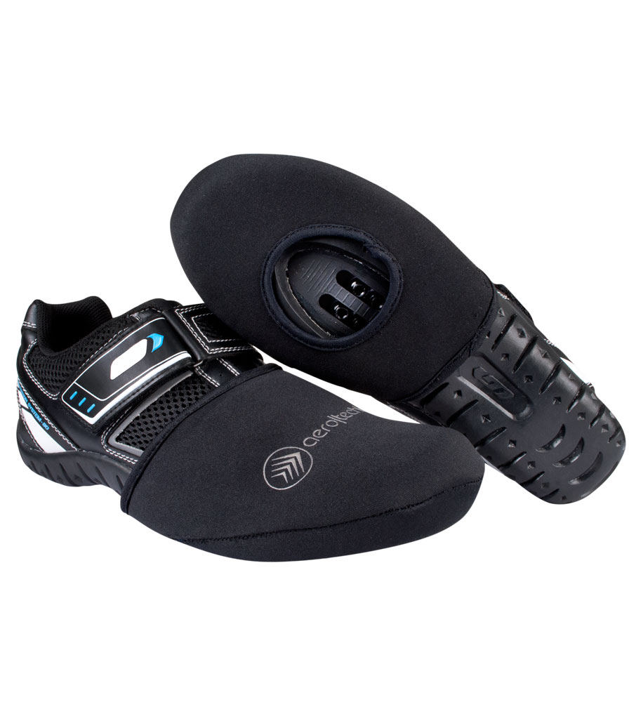 Neoprene Cycling Shoe Toe Cover with Opening for Cleats Questions & Answers