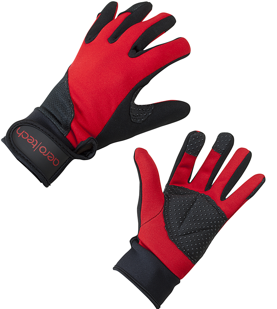 Aero Tech Red Windproof Cycling and Running Glove Questions & Answers