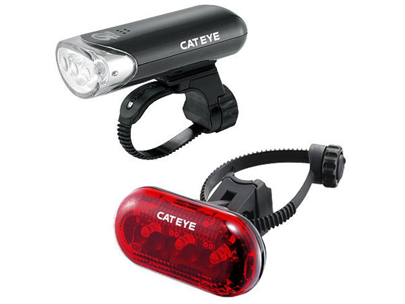 Cateye Bicycle Headlight / Tail light Combo Questions & Answers