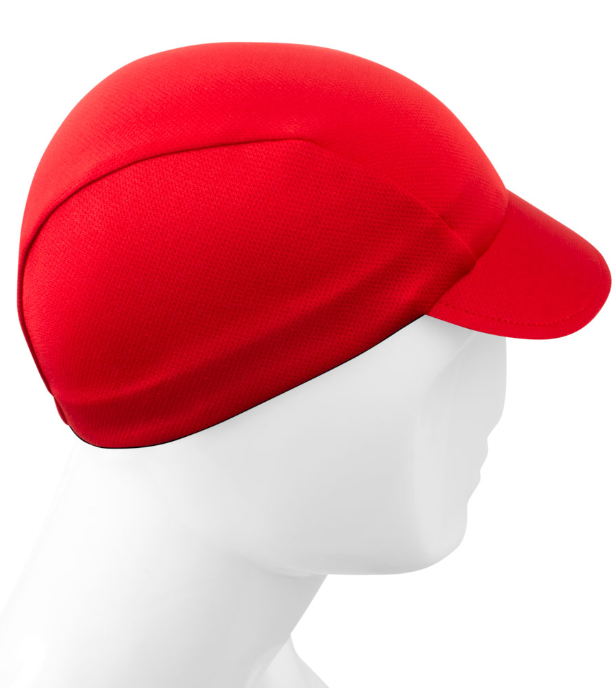 Aero Tech Rush Cycling Caps - Solid Bike Hat - 3 Colors - Made in USA