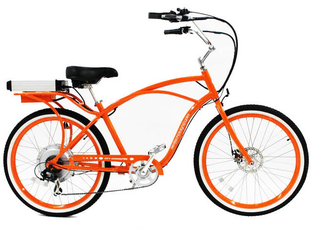 Pedego Orange Electric Bicycle Classic Frame Questions & Answers