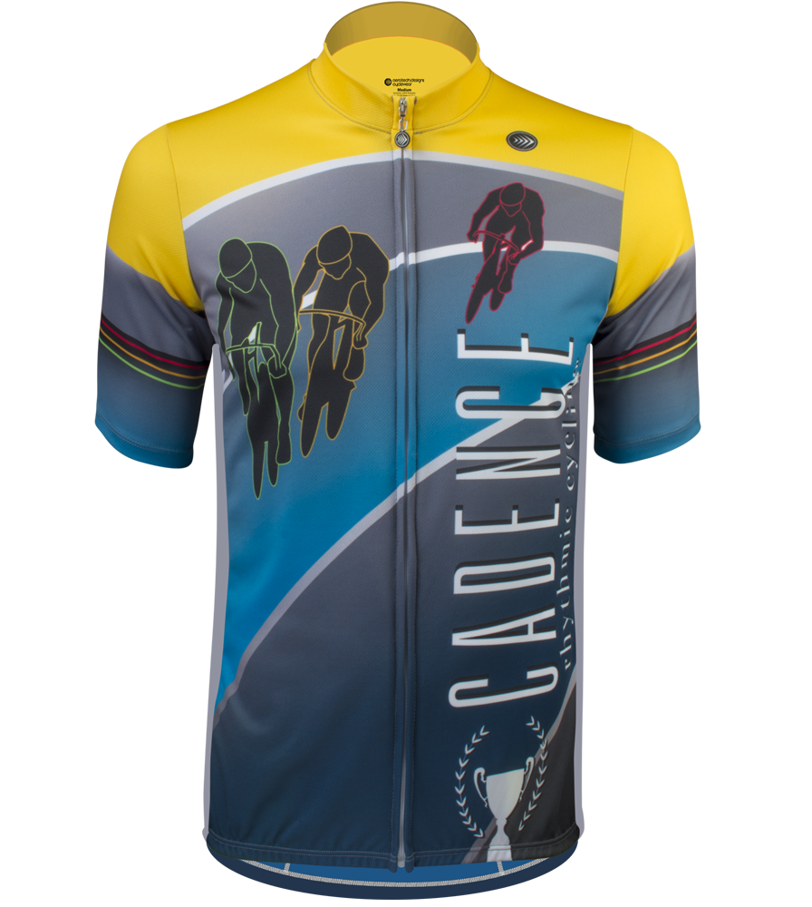 Aero Tech TALL Men's Sprint Jersey Cycling Cadence