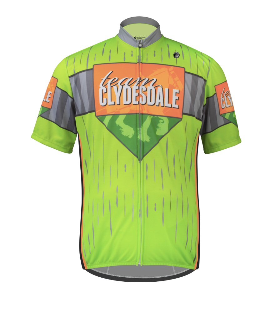 Aero Tech BIG Mens Sprint Cycling Jersey - Team Clydesdale Questions & Answers