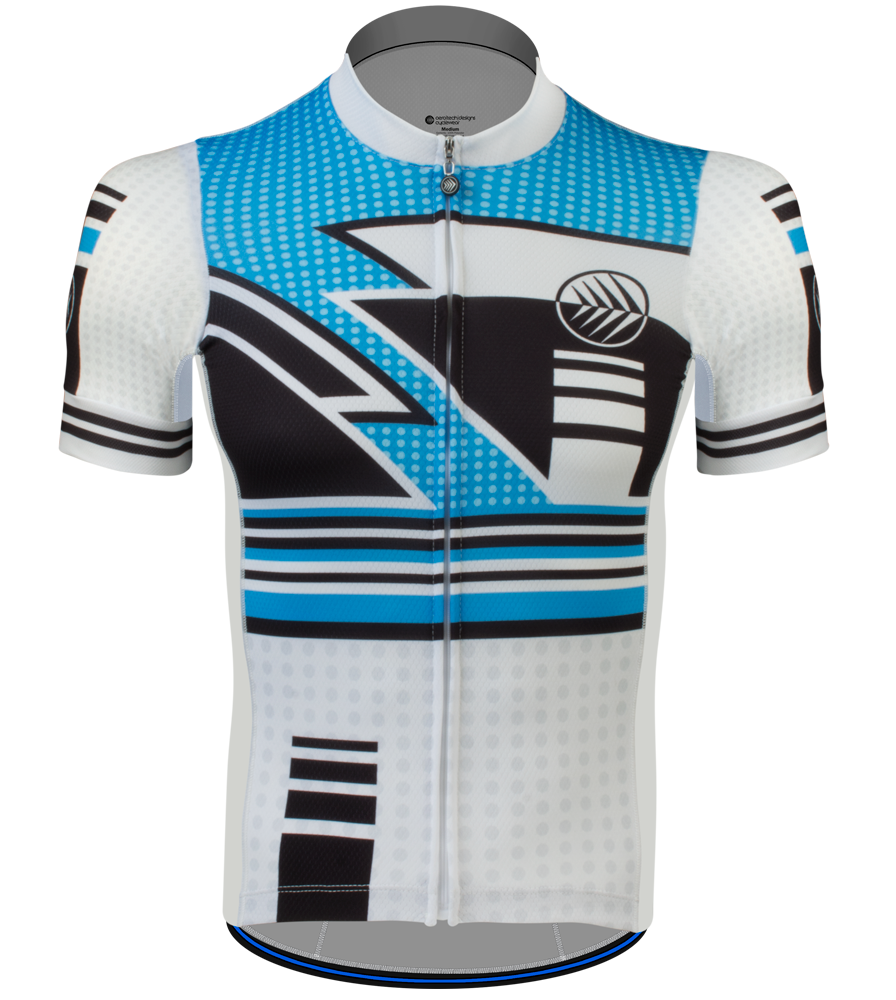 Aero Tech Men's Premiere Jersey - Metric - Race Fit Cycling Jersey