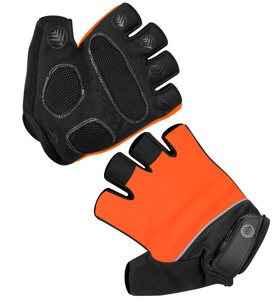When do you expect to get the Large size in the Orange fingerless Men's cycling gloves back in stock?