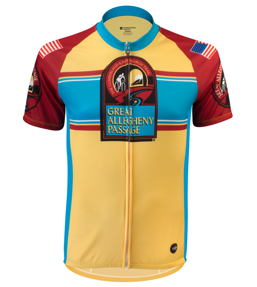 Greater Allegheny Passage Trail Stripe Jersey