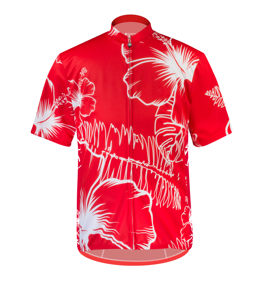 Aero Tech BIG Men's Sprint Jersey - Big Kahuna - Hawaiian Themed Cycling Jersey