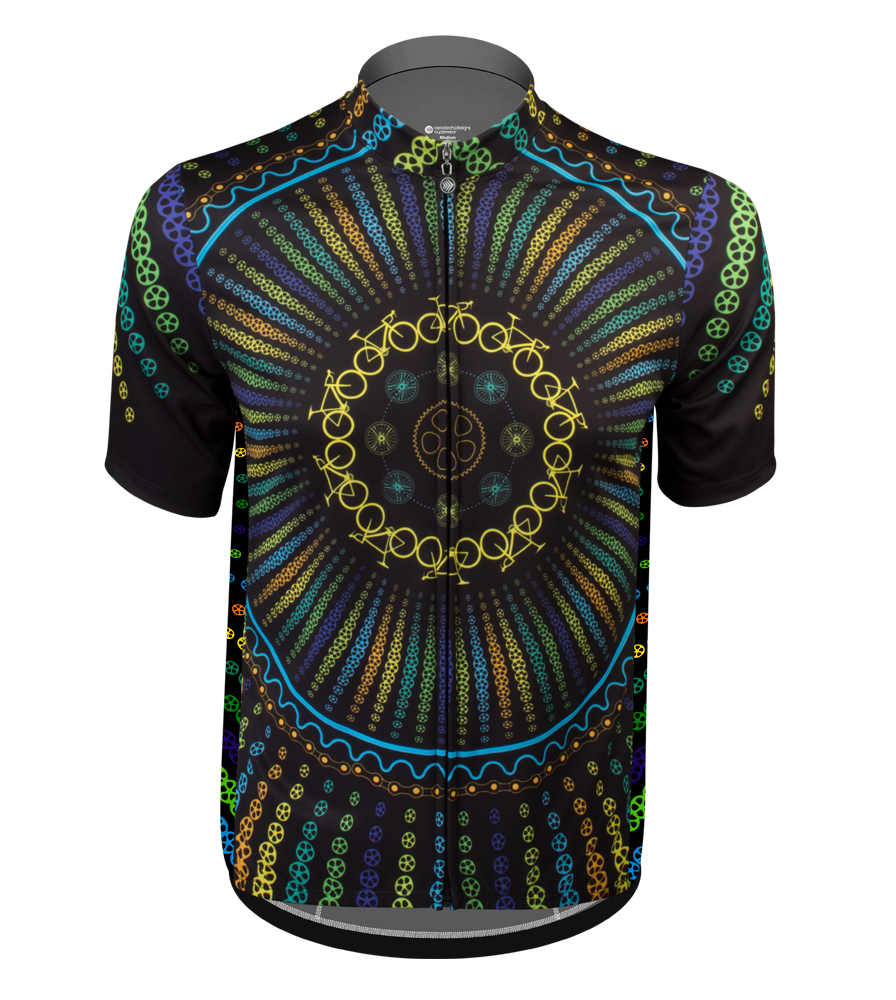 Aero Tech Sprint Jersey - Namaste - Colorful Cycling Jersey Questions & Answers